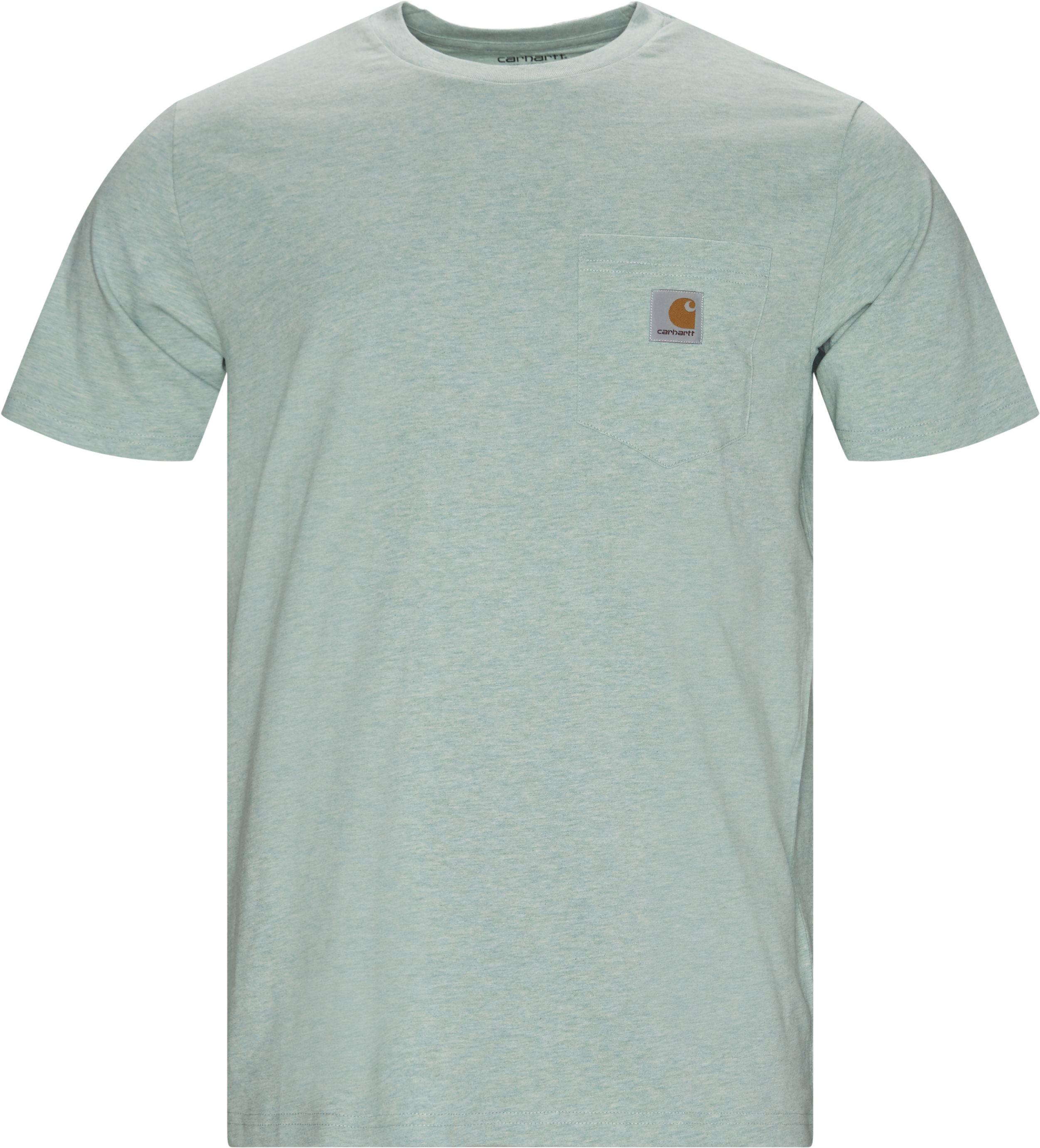 T-shirts - Regular - Green
